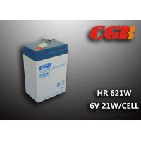 Buy cheap 6V5AH HR621W High Rate Dicharge UPS EPS Power Supply VRLA Battery product
