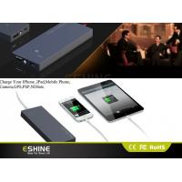 Buy cheap Ultra Slim 3500mah Mini Solar Power Bank Charger , Solar Power Battery Charger product