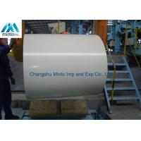 Buy cheap Lightweight Color Coated Steel Coil Anti Corrosion With ISO9001 Certification product