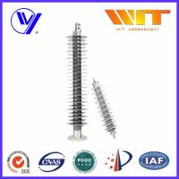 Medium Voltage Polymer Lightning Arrester With Electrical Terminals