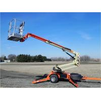Buy cheap 100 - 200kg Folding arm Electric Hydraulic Lifting Platform for articulated product