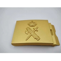 Buy cheap Golden Color Annual Design Army Belt Buckles Military Necessary Die Cast from wholesalers