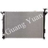 Quality Hyundai Santa Fe Car Oil Radiator With Fan Easy Installation Engine Cooling 13382 for sale