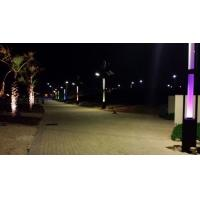 Buy cheap 6M pole Wind Solar 60W Led street light Hybrid System product