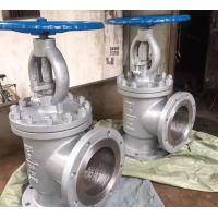 Buy cheap CL150 RF CS/SS A216 WCB A351 CF8M/SS316 Flanged Angle Type Globe Valve / from wholesalers