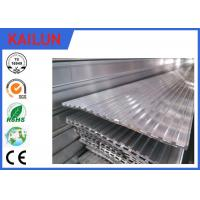 Buy cheap Aluminium Skirting Profiles , Elevator / Escalator Tread Aluminum Deck Cover product