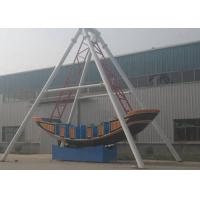 Corrosion Resistence Pirate Ship Amusement Ride Gorgeous Color For Life Square for sale
