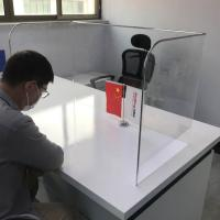 Buy cheap Acrylic Isolation Board Desk School Public Places Anti-Spray Virus Protection from wholesalers