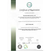Shenzhen KAZ Circuit Co., Ltd Certifications