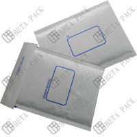 Buy cheap White Self Sealer Hot Melt Glue Bubble Padded Mailer With 1c Printed product