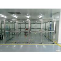 Buy cheap SUS 304 Frame Vertical PVC Softwall Clean Room product