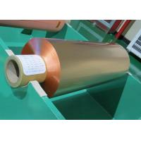 Buy cheap 99.95% Purity Red Treated RA Rolled Copper Foil 18um 35um For FPC product