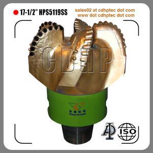Buy cheap 17 1/2 pdec bit, API pdc bit, oil and gas pdc bit product