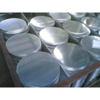 Buy cheap No Oxidation Surface Aluminum Circle ISO9001 Aluminum Plates 1050 product