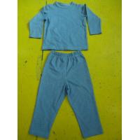 Buy cheap Solid Colors Children'S Cotton Pajamas Simple Boys Two Piece Pajamas Lightweight product