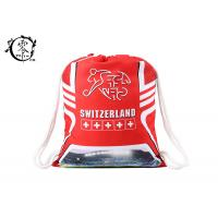 Buy cheap Customized Switzerland Soccer Team Cinch Gym Bag Decoration Training With Logo product