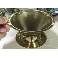 Buy cheap Espresso Grind Stainless Steel Filter , Flavored Kone Pour Over Coffee Filter product
