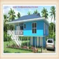 Buy cheap Light Steel Framing Wooden Home Beach Bungalow product