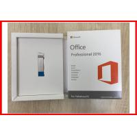 Buy cheap English Microsoft Office 2016 Professional Retail Product Key With USB 3.0 product