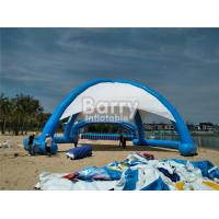 Buy cheap Outdoor Airtight Big Inflatable Dome Tent For Event , Inflatable Beach Tent product