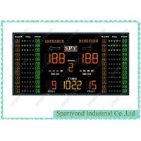 Gym Sporting Field Electronic Basketball Scoreboard LED Display