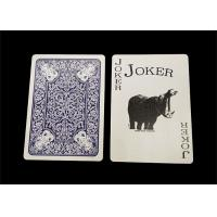Buy cheap Personalized All Plastic Playing Cards 0.3mm / 0.32mm Thickness Optional product