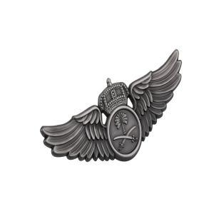 Buy cheap Aluminum Alloy Pilot Wings Aviation Chest Cap Metal Logo Badge product