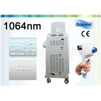 China 1064nm Yag Laser Hair Removal Machine With TEC / Water Cooling , 1Hz~10Hz Frequency wholesale