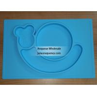 Buy cheap Custom Color silicone plate for kids, factory price with FDA.CE,ROHS product