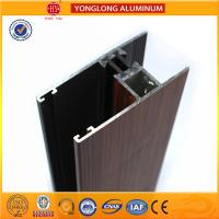 Buy cheap Wood Grain Aluminium extrusion Profiles For House Decoration GB5237.4-2008 product