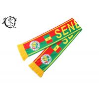 Buy cheap Polyester Fleece Soccer Sublimation Scarf  Winter Warm World Cup product