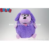 Buy cheap Factory Direct Sale Purple Plush Sheep Backpack With Big Mouth product