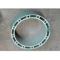 Mill Finish Round Hollow Aluminum Extrusion for Boats , 6061 / 6005 Aluminum Alloy