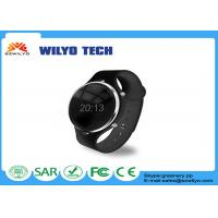 Buy cheap U Watch Bluetooth Wrist Watch , Bluetooth Phone Watch UU Silicon Wristband Bluetooth 3.0 Black product