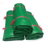 Buy cheap 100% Polyester 610g Vinyl Coated PVC Tarps , Super Heavy Duty 18oz PVC Vinyl Tarpaulin product