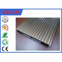 Buy cheap Interlocking Anodized Waterproof Aluminum Decking Boards Materials 6000 series Grade product