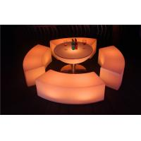 Buy cheap Colored Garden LED Bar Furniture Glowing 120×43×43CM LED Pub Table For Rental product