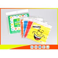 Buy cheap Stand Up Biscuit Pe Plastic Reselable Pouches / Custom Resealable Plastic Bags product
