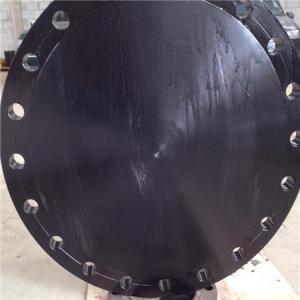 Buy cheap DIN 2615-1 / DIN EN 10253-2 Forged Steel Flanges Round Shape EN 10253 Werkstoff product