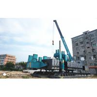 Buy cheap ZYC360 Hydraulic Static Pile Driver , Pile Driving Equipment In Blue Color product