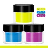 Buy cheap Add to CompareShare Factory OEM private label neon powder nail art bright neon dipping powder dip powder neon color product