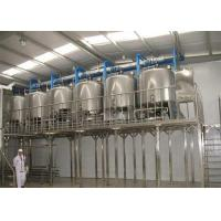 China  Automatic Aseptic Brick Carton Package UHT Milk Processing Line 4000L/H  for sale