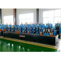 Buy cheap Full Automatically Tube Making Machine Carbon Steel 21 - 63mm Pipe Dia from wholesalers