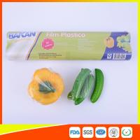 Buy cheap Stretch PE Cling Film Plastic Food Wrap For Keeping Fresh With FDA Approval product