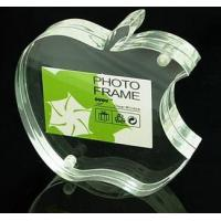 Buy cheap Apple Shape Clear Acrylic Crafts With Reasonable Price product