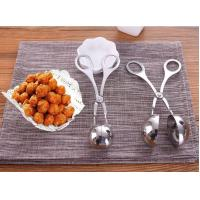 Buy cheap Stainless Steel Meatballs Maker DIY do fish balls tools Spoon kitchen shrimp balls mold digging ball Spoon product