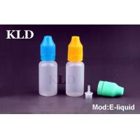 China Colorful cap electronic cig liquid 50ml tamperproof plastic dropper bottle on sale