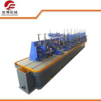 Buy cheap High Frequency Welded Carbon Steel Pipe Making Machine For Round Square Tube product