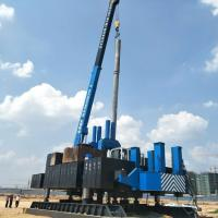Buy cheap ISO9001 Diversity Side Pile Driver Machine For Pile Foundation product