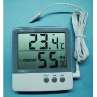Buy cheap Digital Indoor Hygrometer&thermometer with Clock from wholesalers
